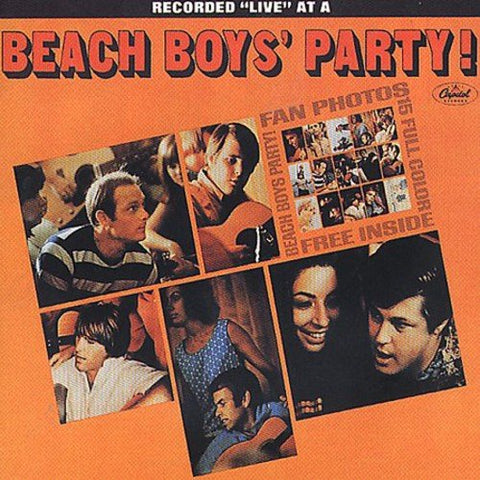 The Beach Boys - Beach Boys Party!/Stack-O-Tracks Audio CD