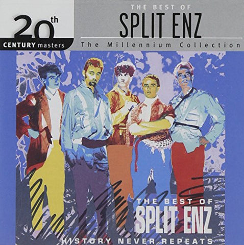 Split Enz - History Never Repeats: The Best of Split Enz Audio CD