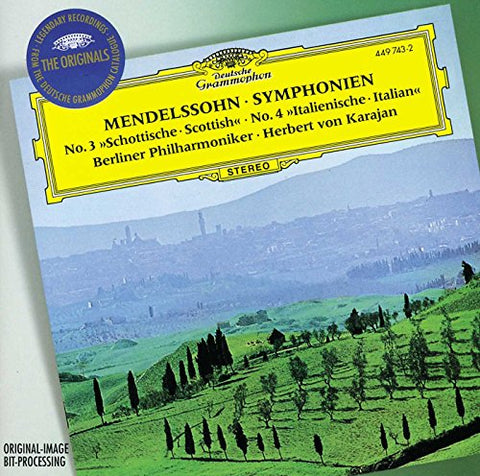elix Mendelssohn - Mendelssohn: Symphonies Nos 3 and 4 (DG The Originals) Audio CD