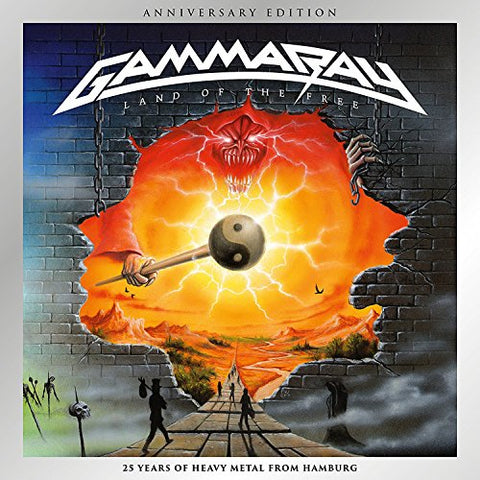 Gamma Ray - Land of the Free Audio CD