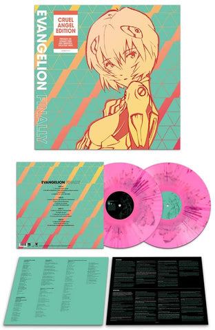 YOKO TAKAHASHI & MEGUMI HAYA - EVANGELION FINALLY PINK2LP Released On 30/04/2021