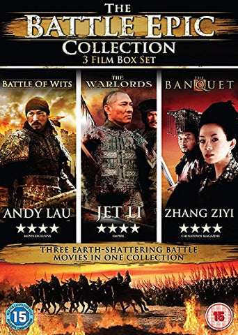The Battle  3 Disc Collection (The Warlords/The Banquet/Battle of Wits) DVD
