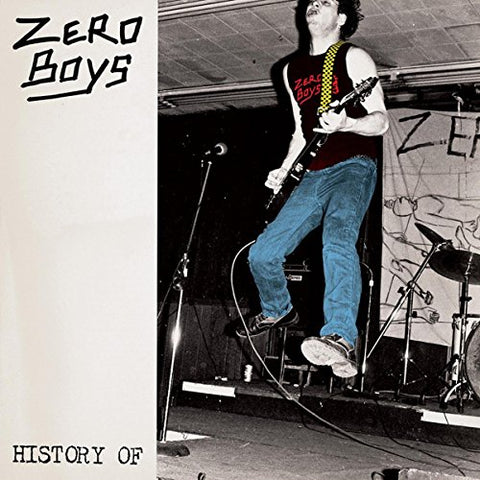 Zero Boys - History Of... Audio CD