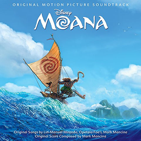 Moana Audio CD