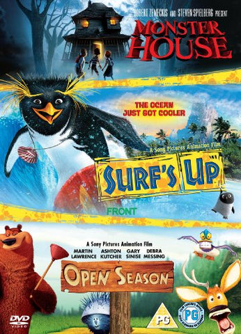 Surf~s Up/Open Season/Monster House [DVD]
