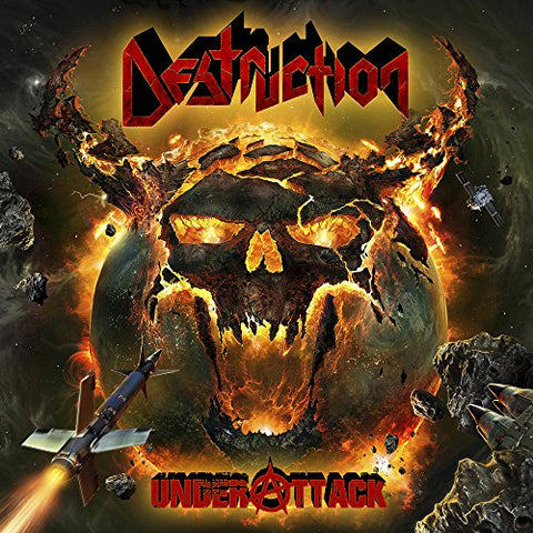 Destruction - Under Attack Audio CD