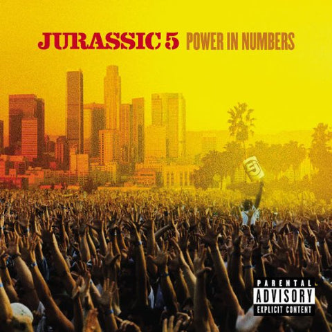 Jurassic 5 - Power In Numbers Audio CD