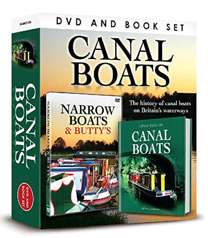 Canal Boats (DVD/Book Gift Set)
