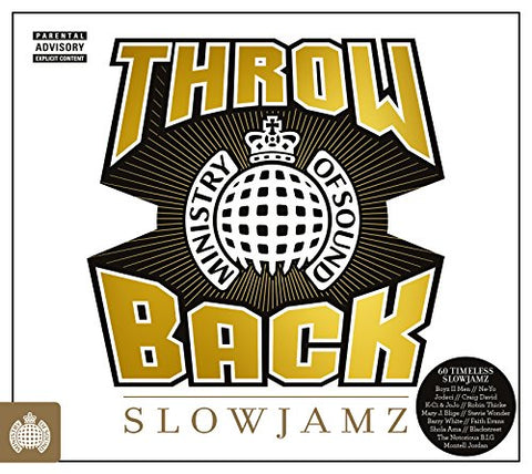Throwback Slowjamz - Ministry Of Sound Audio CD