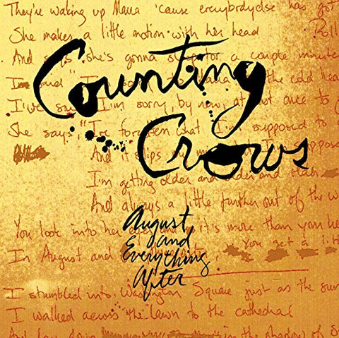 Counting Crows - August and Everything After Audio CD