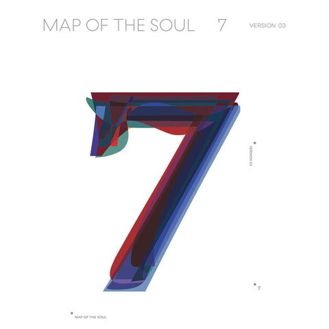 MAP OF THE SOUL 7 (VERSION 3) - BTS AUDIO CD