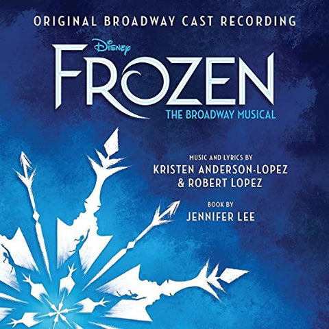 Frozen: The Broadway Musical Audio CD