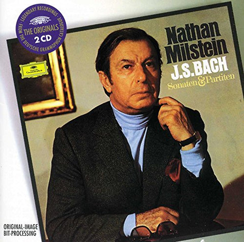 Nathan Milstein - Bach: Sonatas and Partitas for Violin Solo BWV 1001-1006 (DG The Originals) Audio CD