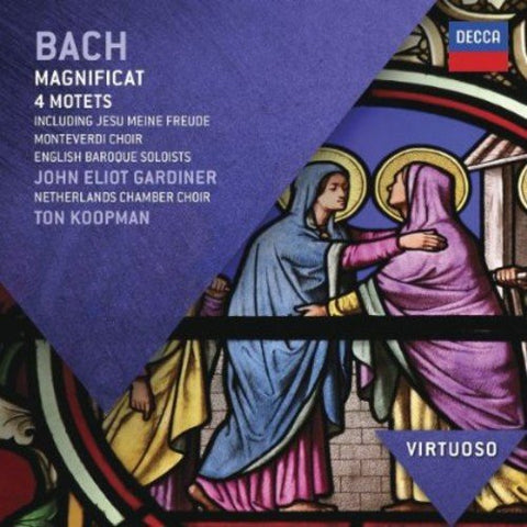 The Monteverdi Choir - Bach: Magnificat (Virtuoso series) Audio CD