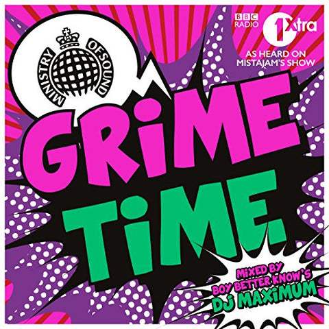 Grime Time Audio CD