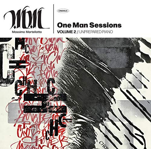 Massimo Martellotta - One Man Sessions Vol. 2: Unprepared Piano [VINYL]