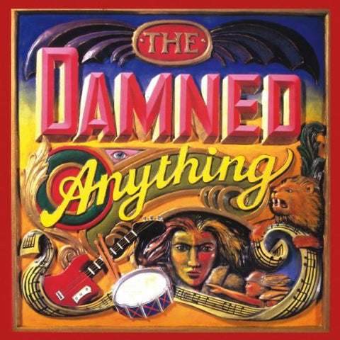 The Damned - Anything Audio CD
