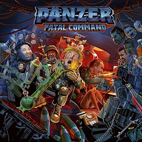 Pänzer - Fatal Command [Limited Digipack CD]