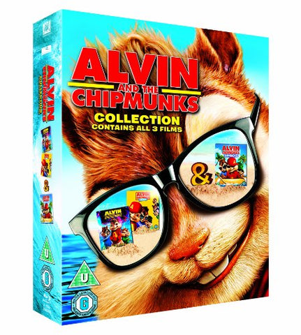 Alvin and the Chipmunks Triple Pack [Blu-ray] [2007] Blu-ray