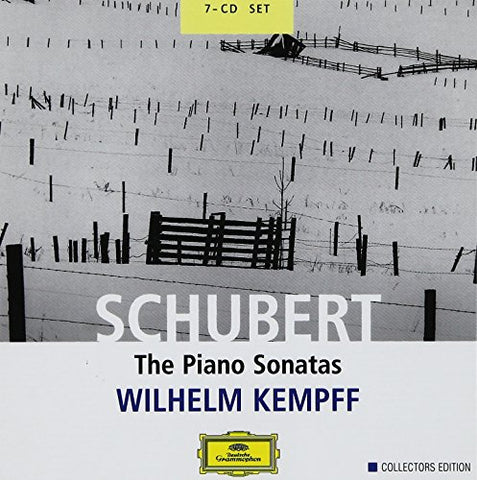 ranz Schubert - Schubert: Piano Sonatas (DG Collectors Edition) Audio CD