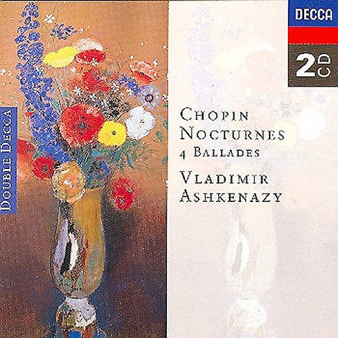 ryderyk Franciszek Chopin - Chopin: Nocturnes and 4 Ballades Audio CD