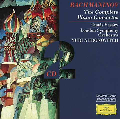 ergey Rachmaninov - Rachmaninov: Piano Concertos Audio CD