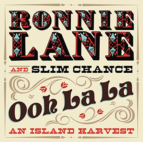 Ronnie Lane And Slim Chance - Ooh La La: An Island Harvest Audio CD