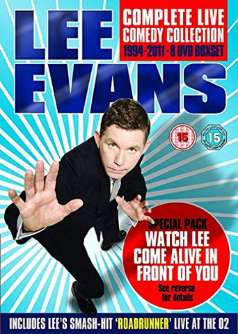 Lee Evans: Complete Live Comedy Collection 1994-2011 DVD Box Set Sent Sameday*