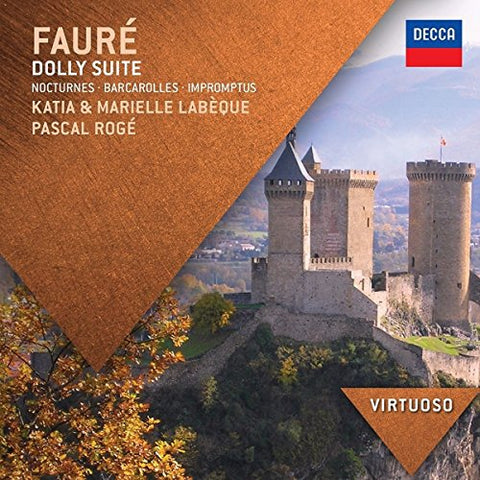 Katia Labèque - Faure: Dolly Suite; Nocturnes; Barcarolles; Impromptus Audio CD