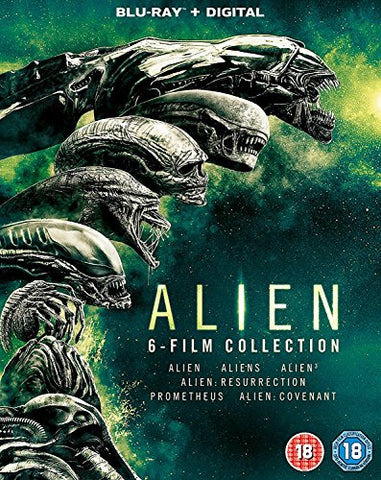 Alien: 6-Film Collection [Blu-ray] [2017] Blu-ray