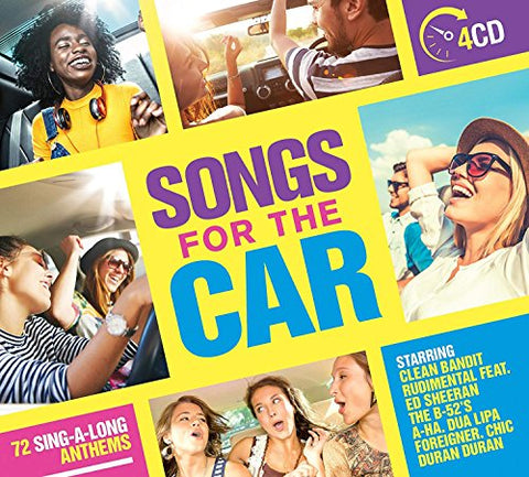 Songs for the Car Audio CD