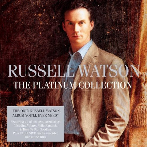 Russell Watson - The Platinum Collection Audio CD