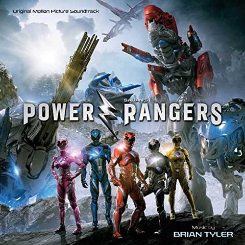 Brian Tyler - Power Rangers Audio CD