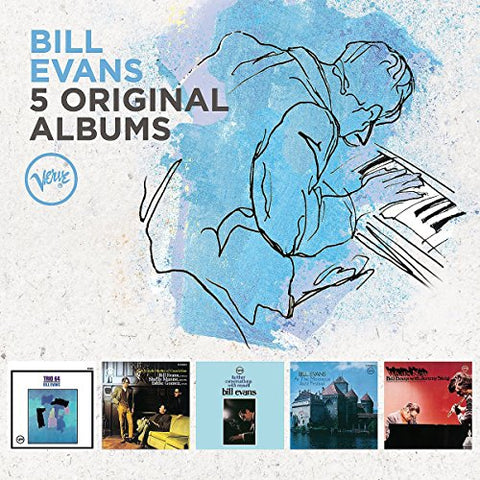 Bill Evans - 5 Original Albums Audio CD