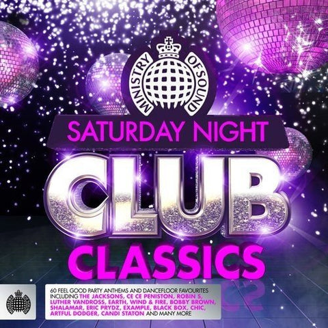 Saturday Night Club Classics Sent Sameday* Audio CD
