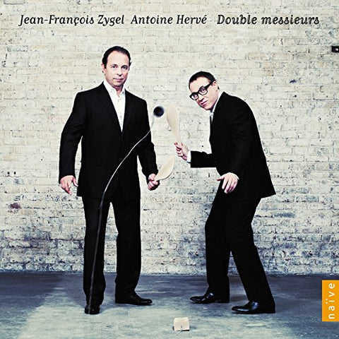 Jean-François Zygel and Antoine Herve - Double Messieurs Audio CD