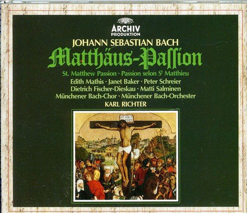 ohann Sebastian Bach - Bach: St Matthew Passion Audio CD