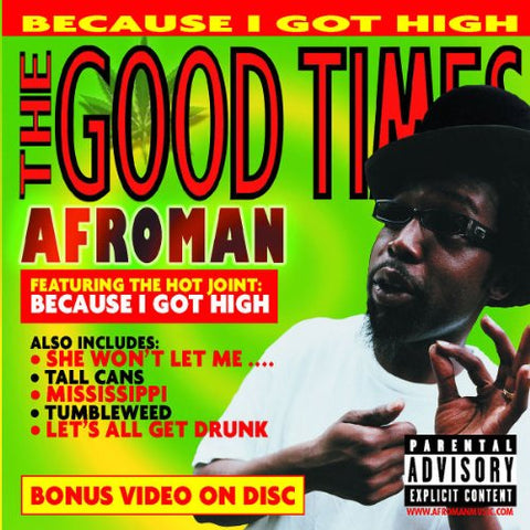 Afroman - The Good Times Audio CD