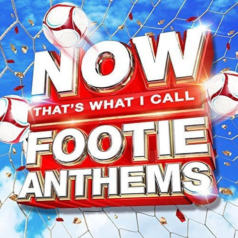 NOW Thats What I Call Footie Anthems Audio CD