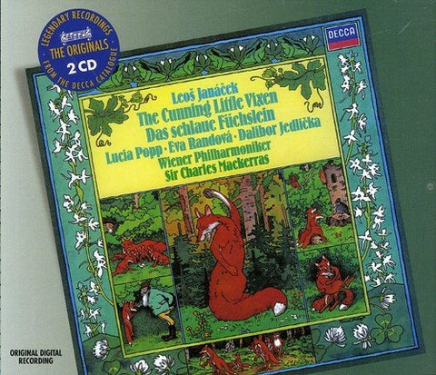 Lucia Popp - Janacek: The Cunning Little Vixen (DECCA The Originals) Audio CD