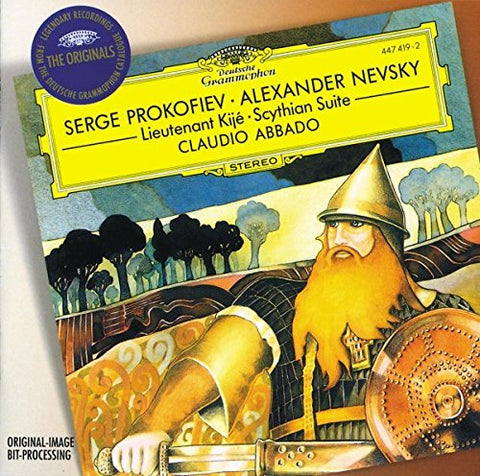ergey Prokofiev - Prokofiev: Alexander Nevsky, Lieutenant Kije, Scythian Suite (DG The Originals) Audio CD