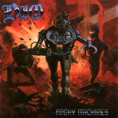 Dio - Angry Machines - 2CD Hardcover Mediabook Released On 20/03/2020 AUDIO CD
