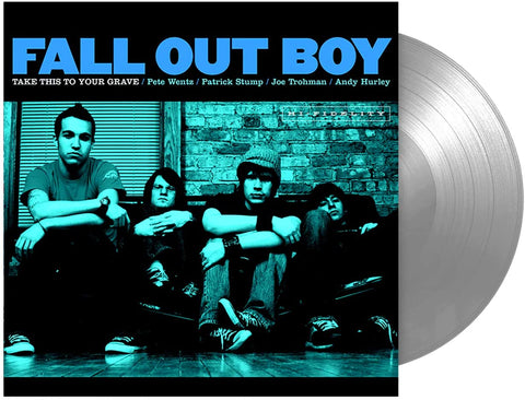 Fall Out Boy - Take This to Your Grave Silver LP Released On 30/04/2021