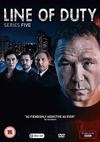 LINE OF DUTY SERIES 5 DVD