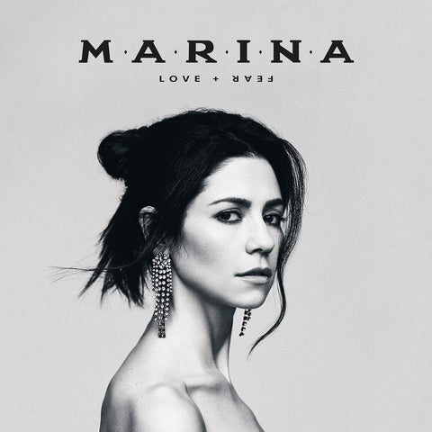 MARINA - LOVE + FEAR Sent Sameday* AUDIO CD