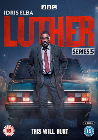 LUTHER SEASON 5 DVD