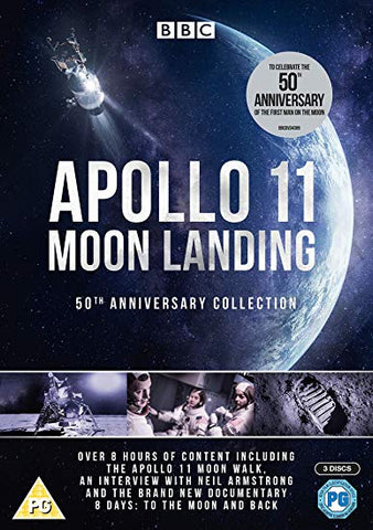 MOON LANDING 50TH ANNIVERSARY DVD