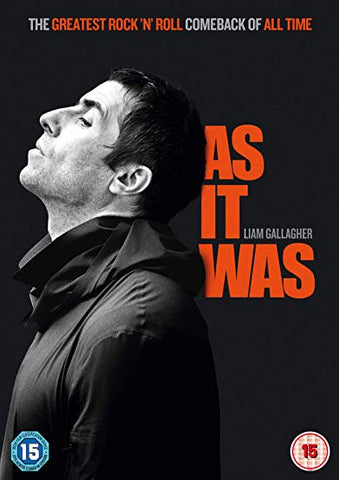 LIAM GALLAGHER: AS IT WAS DVD
