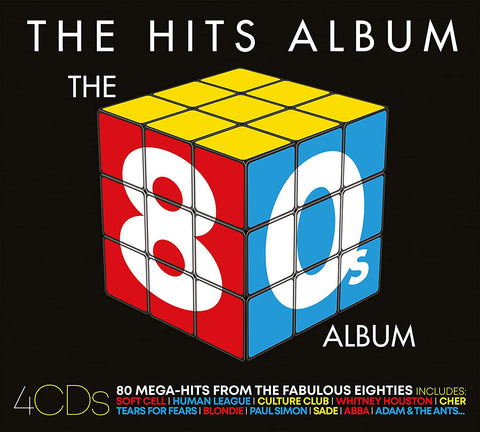 THE 80s ALBUM - THE HITS ALBUM AUDIO CD