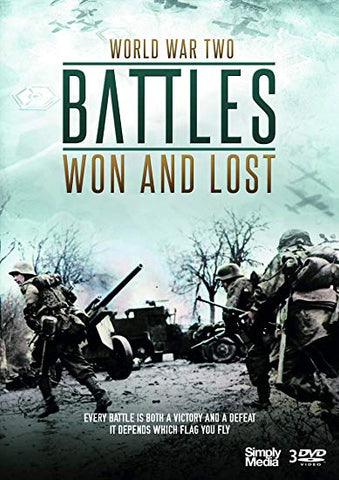 BATTLES WON and LOST COMPLETE SERIES DVD